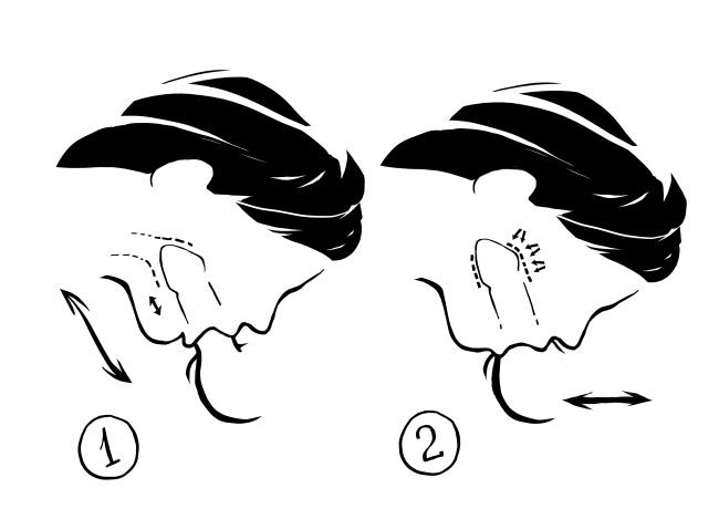Техника горлового минета